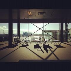Basel Airport Waiting Lounge