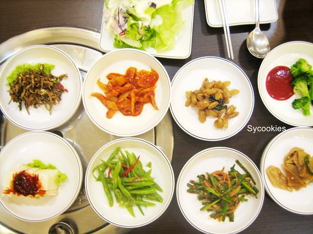 1. side dish @ mr lim korean restaurant070