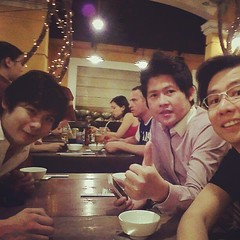 Dinner time Vietnam Food at Nha Hang Ngon restaurant with Quan @skanjanasakchai