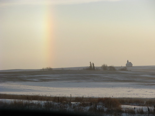 Sundog at Lakenheath, SK