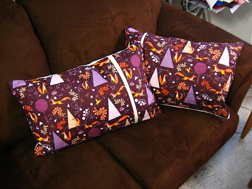 Pillow backs