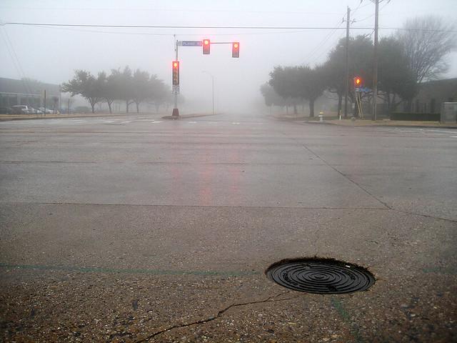 Red Light In The Fog