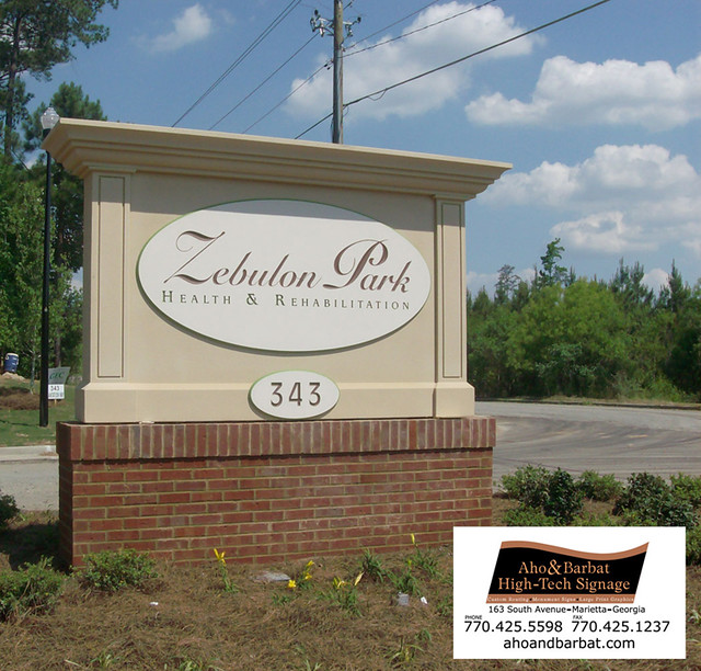 COMMERCIAL MONUMENT SIGNS