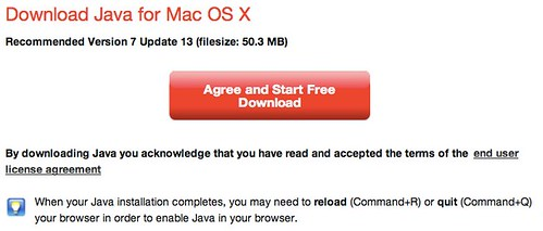 Download Java for Mac OS X