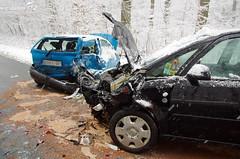 Verkehrsunfall L3038 Chausseehaus 06.02.13