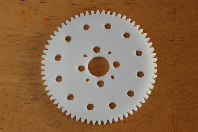 Pan Gear Drilled