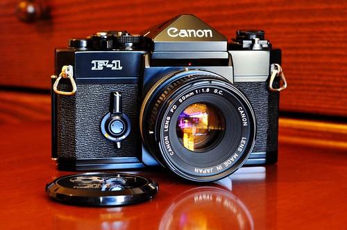 Canon F-1, Επιβλητική με ιδιαίτερη αισθητική και χαρακτήρα.