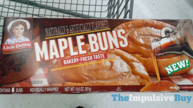 Little Debbie Maple Buns