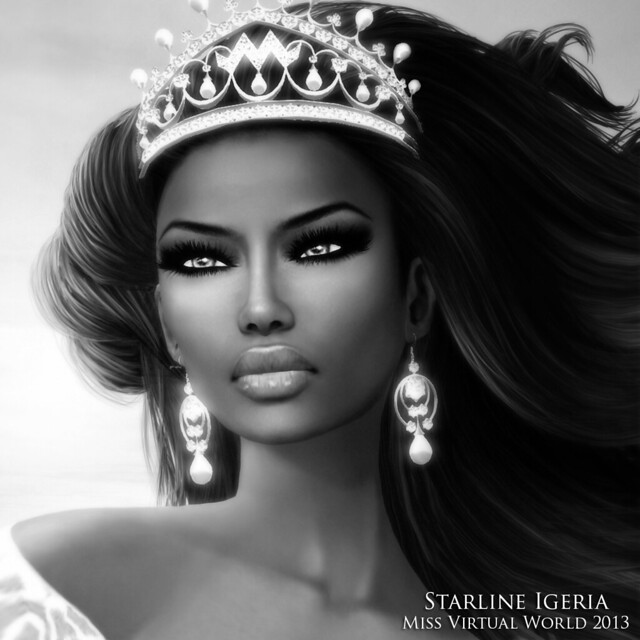 Starline Igeria - Miss Virtual World Official Photo 2013