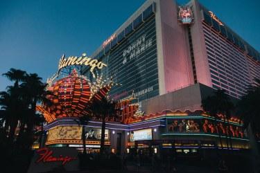 The Flamingo Hotel and Casino in Las Vegas, Nevada