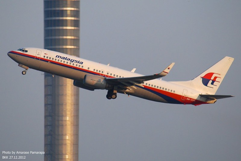 9M-FFD // Malaysia Airlines Boeing 737-85F