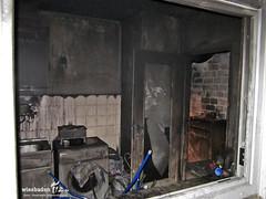 Wohnungsbrand Hochhaus Niedernhausen 01.01.13