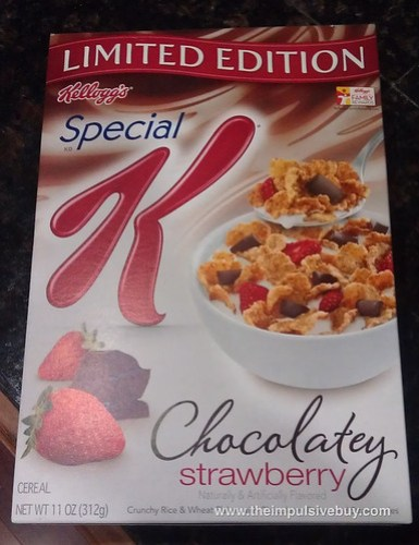 Limited Edition Special K Chocolatey Strawberry