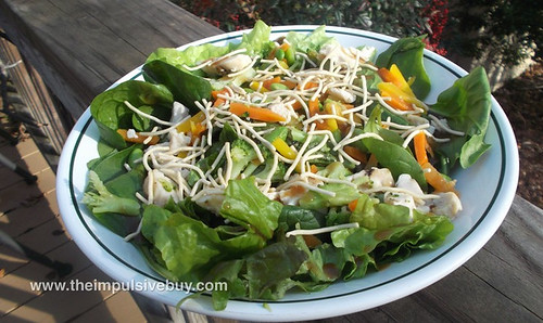 Lean Cuisine Asian-Style Chicken Salad Additions Made