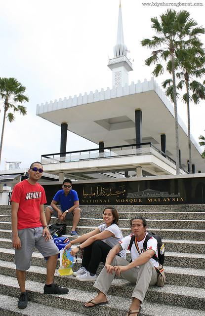 Malaysia's National Mosque Kuala Lumpur