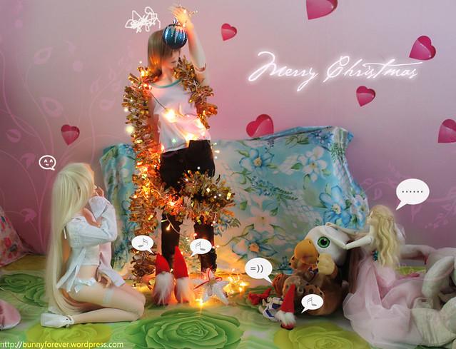 Bunny's family Noel 2012