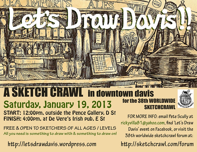 let's draw davis january 19th 2013