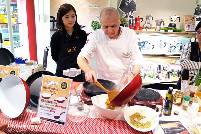 看Giorgio烹飪其實是一種享受,看起來讓人感覺烹飪一點都不難,卻又可以非常美味。