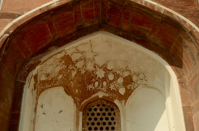 humayun's tomb, delhi, new delhi, mughal architecture, window