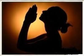 praying wife