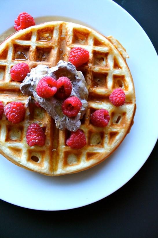 yeasty waffle