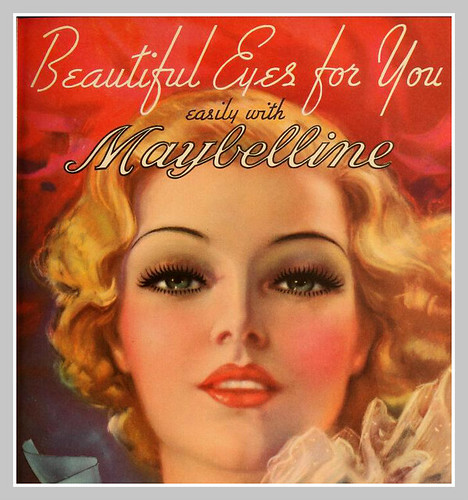 1934 MAYBELLINE AD