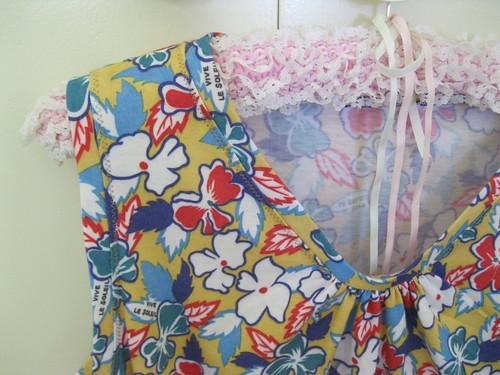 Cherish dress for Mum - front detail