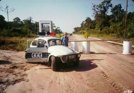 1985 - Primeiro veículo de segurança da Associação dos Amigos da Riviera