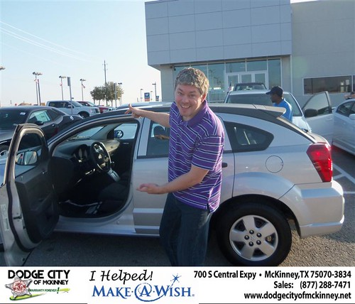 Congratulations to AMANDA M WINKELMAN on the 2008 Dodge Caliber by Dodge City McKinney Texas