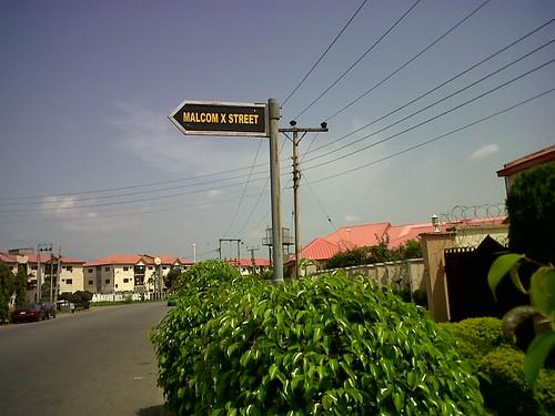 Malcolm X Street Abuja Nigeria by Jujufilms