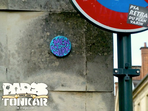 Man at work #111 // Rennes, 2012 by Pegasus & Co