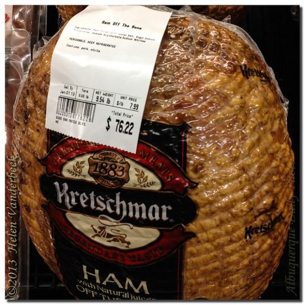A 75.00 Ham
