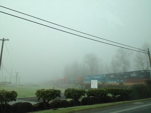 Foggy Day in Snohomish, WA. by DRheins