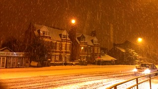 Heavy snow 25/1/13
