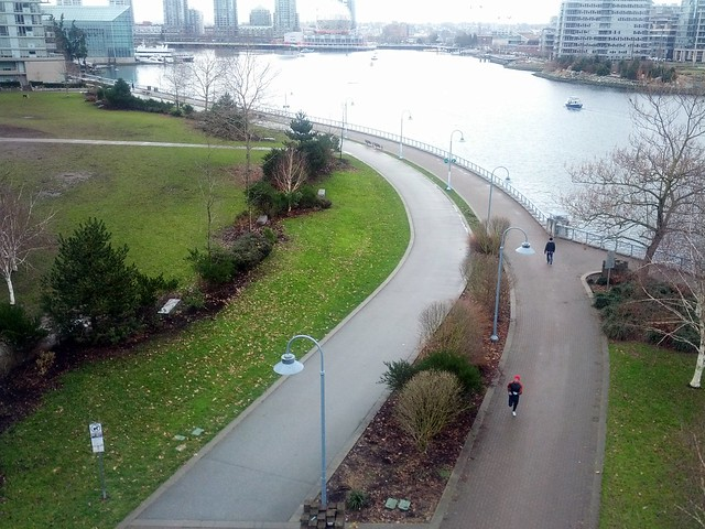 Coopers Park and the Seawall