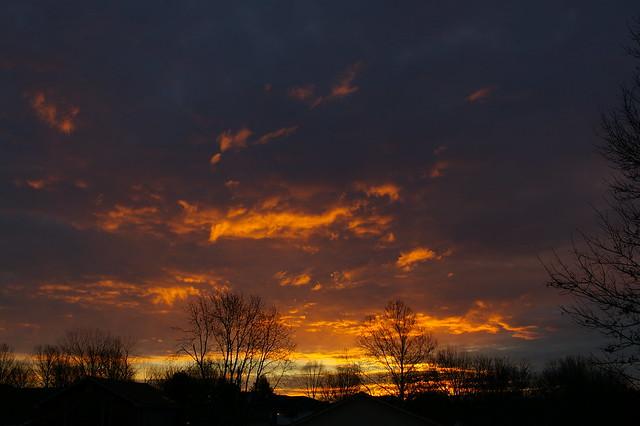 Groundhog Day Sunrise