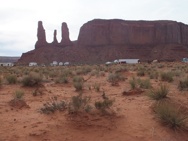 Film shoot at Monument Valley