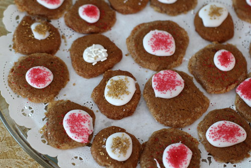 speculoos buttons, ready to party