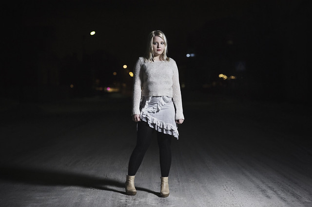 Ilona, night portrait pt.2
