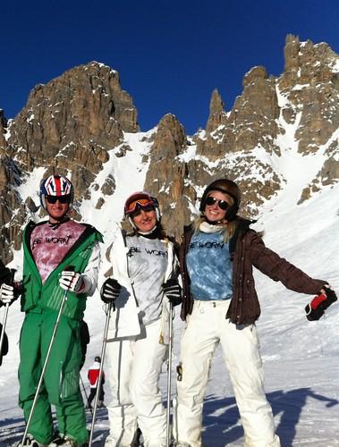 BeWorn Clothing on Skis by Fabulous Ski