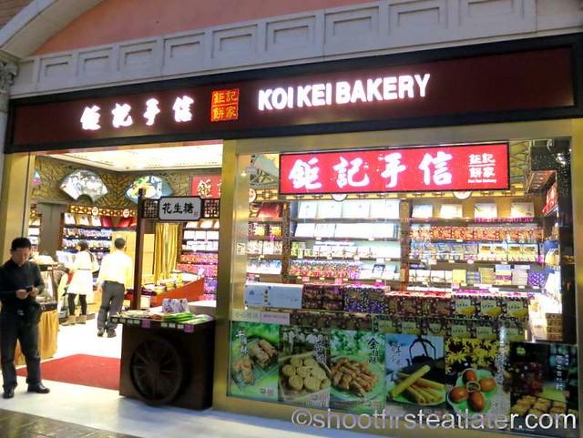 Koi Kei Bakery Macau