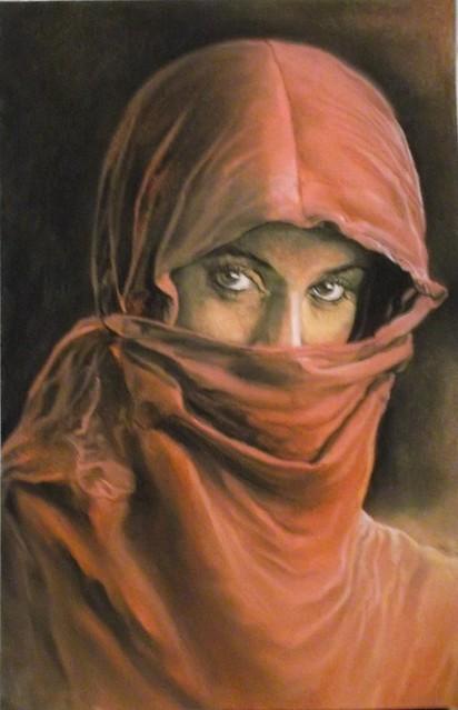 Jeune femme magrehbine