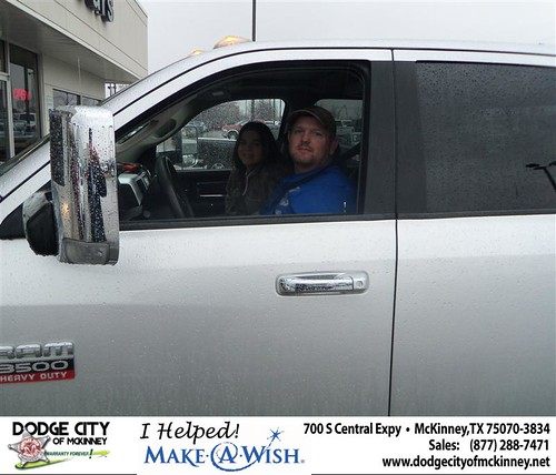 Congratulations to MARTY L CLINTON on the 2010 DODGE RAM 3500 by Dodge City McKinney Texas