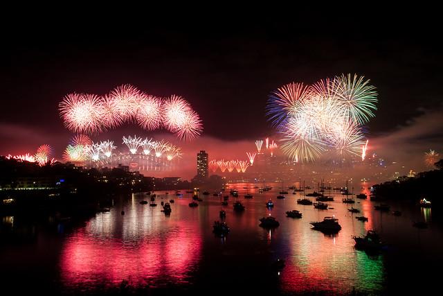 Sydney NYE 13 Fireworks