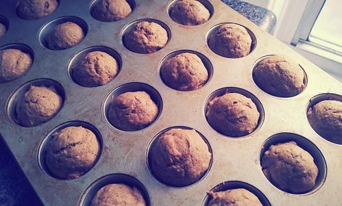 Thai coffee muffins