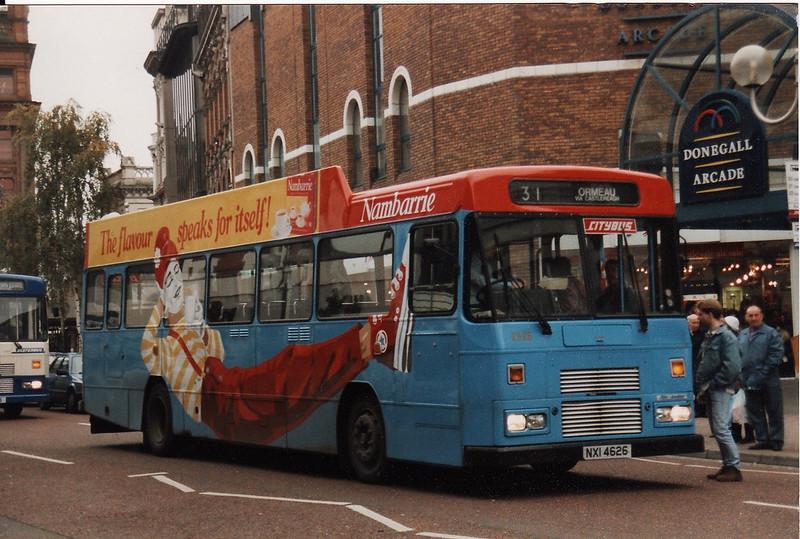 Citybus 2626 Leyland Tiger/Alexander N in Nambarrie Tea Overall Advert