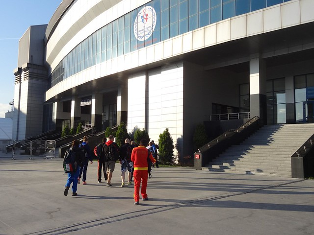 Athletes entrance at Istanbul 2012