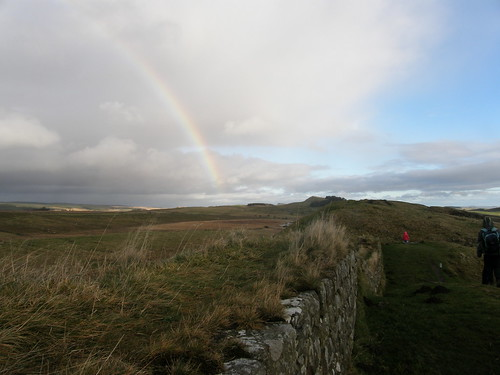 Hadrian's Wall and Rainbow