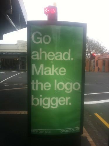 make the logo bigger by .Damo.