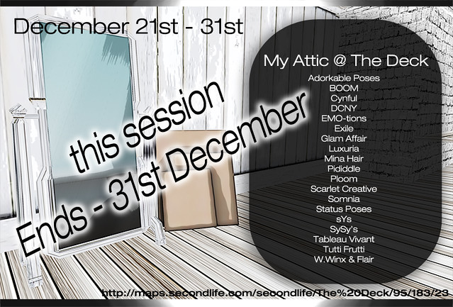 My Attic - December - Ends 31st